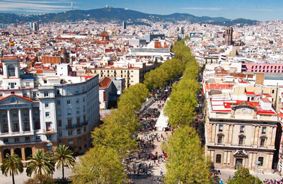 Barcelona Praamid